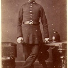 Gloucester Constable thought to 1870. (Gloucestershire Police Archives URN 8568)