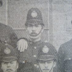 Police Constable Greengrass of Tetbury 1907. (Gloucestershire Police Archives URN 8571)