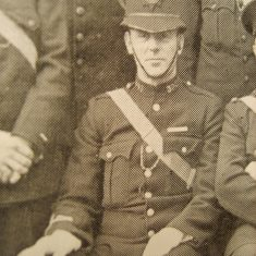 Police Constable Frederick Greenslade (Gloucestershire Police Archives URN 8572)