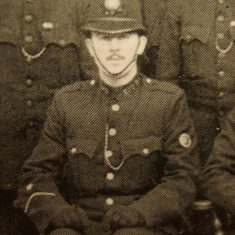 Police Constable Arthur Groves. (Gloucestershire Police Archives URN 8576)