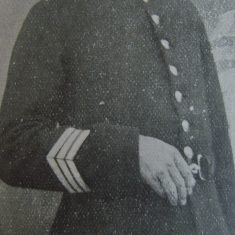 Police Sergeant 98 Frederick Hale. (Gloucestershire Police Archives URN 8580)