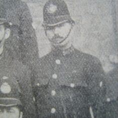 Police Constable 360 Charles Hamblin of Cirencester 1907 (Gloucestershire Police Archives URN 8584)