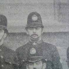 Police Constable 100 Frank Hands of North Cerney 1907. (Gloucestershire Police Archives URN 8585)
