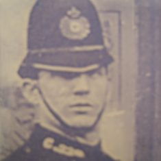 Police Constable 229 William Hands. (Gloucestershire Police Archives URN 8586)