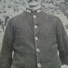 Police Constable 176 Inkerman Harvey. (Gloucestershire Police Archives URN 8587)