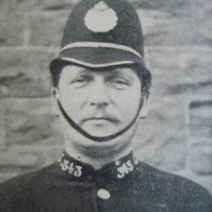Police Constable 343 John Hazell. (Gloucestershire Police Archives URN 8589)