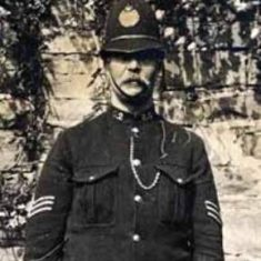 Police Sergeant Head. (Gloucestershire Police Archives URN 8590)