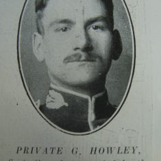 Police Constable G Howley (Gloucestershire Police Archives URN 8604)