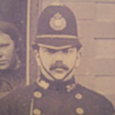 Police Constable 326 Harold Illes. (Gloucestershire Police Archives URN 8608)