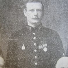 Police Constable 303 Edwin Jackson. (Gloucestershire Police Archives URN 8609)