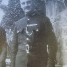 Police Constable 154 Edward George James. (Gloucestershire Police Archives URN 8610)