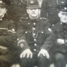 Police Constable Leonard James. (Gloucestershire Police Archives URN 8611)