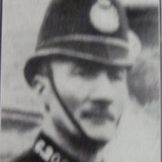Police Constable 209 John Jones. (Gloucestershire Police Archives URN 8615)