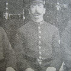 Police Constable Arthur Jones. (Gloucestershire Police Archives URN 8616)