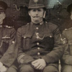 Police Constable Bernard Keane. (Gloucestershire Police Archives URN 8620)