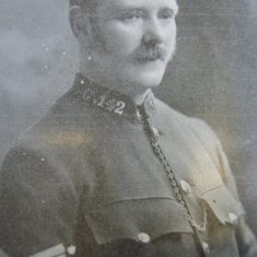 Police Sergeant 142 Thomas  Keen. (Gloucestershire Police Archives URN 8621)
