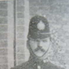 Police Constable Thomas Kenny. (Gloucestershire Police Archives URN 8622)