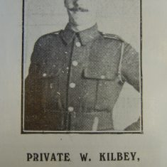 Police Constable 260 William  Kilbey. (Gloucestershire Police Archives URN 8623)