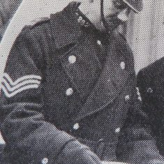 Police Sergeant 282 William Kingscote. (Gloucestershire Police Archives URN 8624)