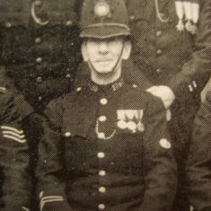 Police Constable 185 Leslie Lodge. (Gloucestershire Police Archives URN 8636)