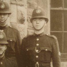 Police Constable 201 Joe McKnight. (Gloucestershire Police Archives URN 8640)