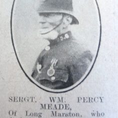 Police Sergeant 95 William Meade. (Gloucestershire Police Archives URN 8641)
