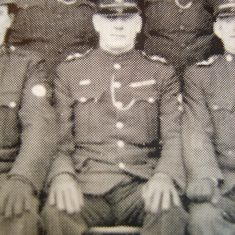 Inspector 141 Francis Midwinter wearing Silver Braid. (Gloucestershire Police Archives URN 8642)