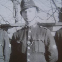 Police Constable Arthur Mynett. (Gloucestershire Police Archives URN 8646)