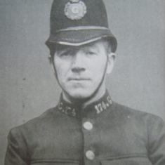 Police Sergeant 174 Thomas Neville. (Gloucestershire Police Archives URN 8649)