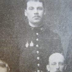 Police Constable John Newman 1903. (Gloucestershire Police Archives URN 8650)