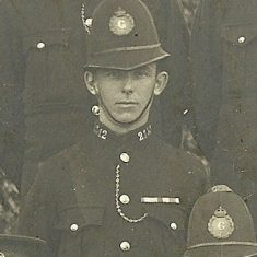 Police Constable 212 William John Nicholls. (Gloucestershire Police Archives URN 8651)