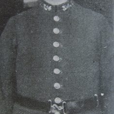 Police Constable 324 Sydney Parsloe. (Gloucestershire Police Archives URN 8654)