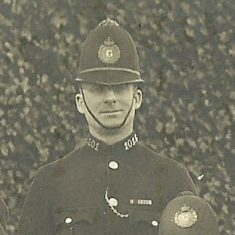 Police Constable 101 Frank Payne. (Gloucestershire Police Archives URN 8656)