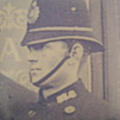 Police Constable 87 William Pinnions. (Gloucestershire Police Archives URN 8663)