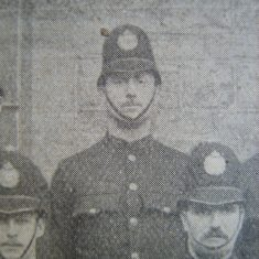 Police Constable 83 Charles Poulton. (Gloucestershire Police Archives URN 8665)