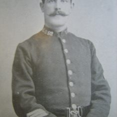 Police Sergeant 292 William Price. (Gloucestershire Police Archives URN 8667)