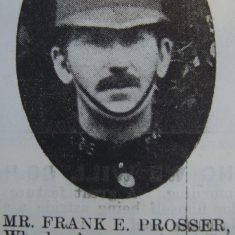 Police Constable 50 Frank Prosser. (Gloucestershire Police Archives URN 8670)