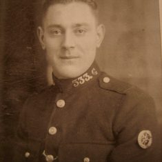 Police Constable 333 Alf Reeve. (Gloucestershire Police Archives URN 8672)
