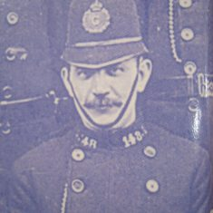 Police Sergeant 148 Charles Robinson. (Gloucestershire Police Archives URN 8673)