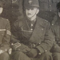 Police Constable Arthur Russell. (Gloucestershire Police Archives URN 8676)