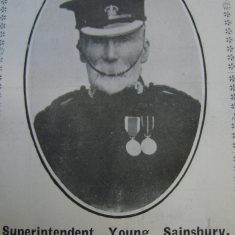 Superintendent Young Sainsbury. (Gloucestershire Police Archives URN 8679)