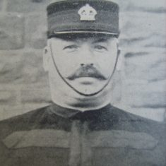 Inspector Hubert Seabright. (Gloucestershire Police Archives URN 8680)