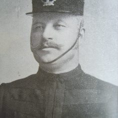 Inspector John Edward Selwood. (Gloucestershire Police Archives URN 8681)
