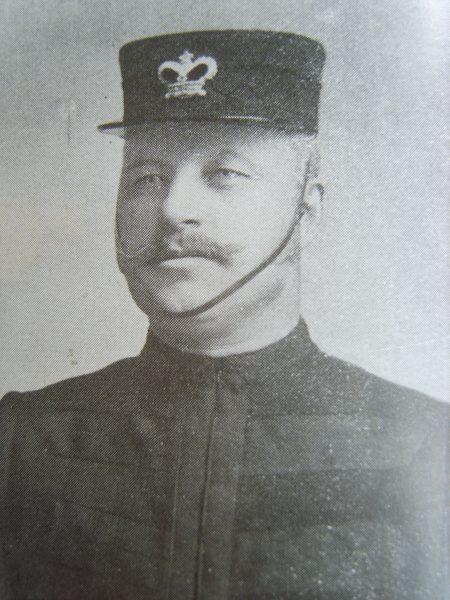 Inspector John Edward Selwood. (Gloucestershire Police Archives URN 8681)