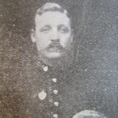 Police Constable JWG Sharrock 1903. (Gloucestershire Police Archives URN 8682)