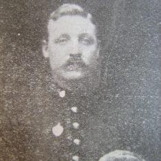 Police Constable JWG Sharrock 1903 (Gloucestershire Police Archives URN 8682)