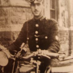 Police Constable Cas Smith. (Gloucestershire Police Archives URN 8689)