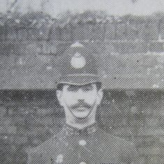 Police Constable 272 Archie Spary. (Gloucestershire Police Archives URN 8693)