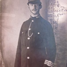 Police Constable 367 Edward Styman. (Gloucestershire Police Archives URN 8698)