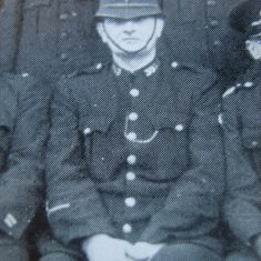 Police Constable Alec Taylor. (Gloucestershire Police Archives URN 8699)